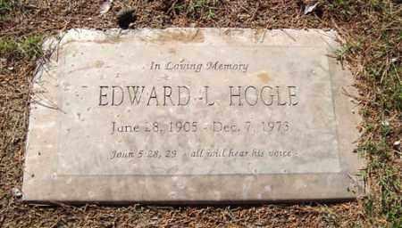 HOGLE, EDWARD L. - Maricopa County, Arizona | EDWARD L. HOGLE - Arizona Gravestone Photos