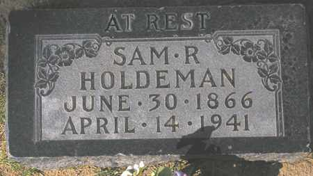 HOLDEMAN, SAM R. - Maricopa County, Arizona | SAM R. HOLDEMAN - Arizona Gravestone Photos
