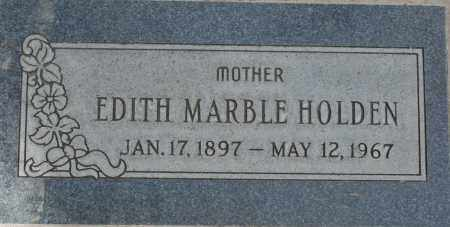 HOLDEN, EDITH MARBLE - Maricopa County, Arizona | EDITH MARBLE HOLDEN - Arizona Gravestone Photos