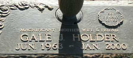 HOLDER, GALE J. - Maricopa County, Arizona | GALE J. HOLDER - Arizona Gravestone Photos
