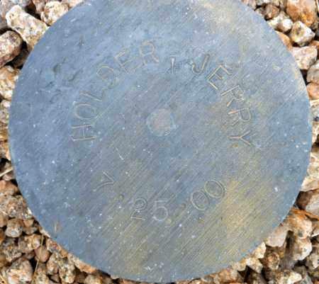 HOLDER,, JERRY - Maricopa County, Arizona   JERRY HOLDER, - Arizona Gravestone Photos