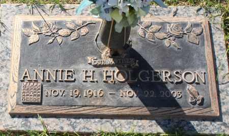 HOLGERSON, ANNIE H - Maricopa County, Arizona | ANNIE H HOLGERSON - Arizona Gravestone Photos