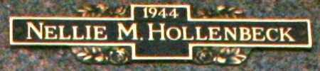 HOLLENBECK, NELLIE M - Maricopa County, Arizona | NELLIE M HOLLENBECK - Arizona Gravestone Photos