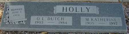 HOLLY, O. L. - Maricopa County, Arizona | O. L. HOLLY - Arizona Gravestone Photos