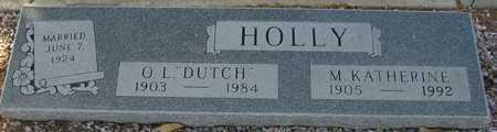 HOLLY, M. KATHERINE - Maricopa County, Arizona | M. KATHERINE HOLLY - Arizona Gravestone Photos