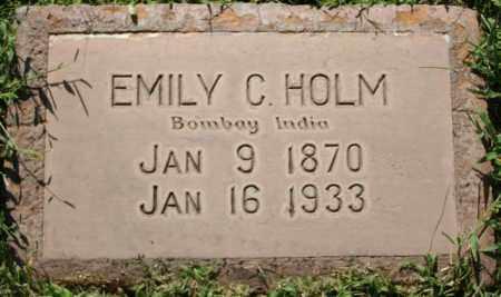 HOLM, EMILY C - Maricopa County, Arizona | EMILY C HOLM - Arizona Gravestone Photos