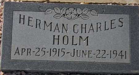HOLM, HERMAN CHARLES - Maricopa County, Arizona | HERMAN CHARLES HOLM - Arizona Gravestone Photos