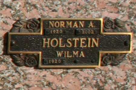 HOLSTEIN, NORMAN A - Maricopa County, Arizona | NORMAN A HOLSTEIN - Arizona Gravestone Photos