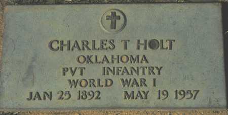 HOLT, CHARLES T. - Maricopa County, Arizona | CHARLES T. HOLT - Arizona Gravestone Photos