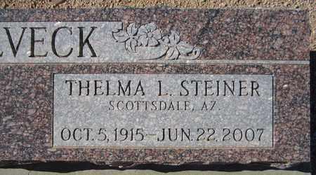 HOLVECK, THELMA L. - Maricopa County, Arizona | THELMA L. HOLVECK - Arizona Gravestone Photos