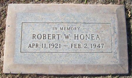 HONEA, ROBERT W. - Maricopa County, Arizona | ROBERT W. HONEA - Arizona Gravestone Photos
