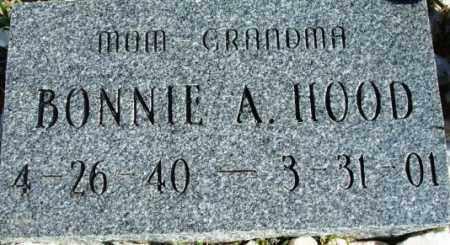HOOD, BONNIE A. - Maricopa County, Arizona | BONNIE A. HOOD - Arizona Gravestone Photos