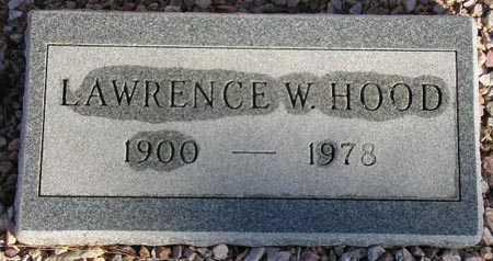HOOD, LAWRENCE W. - Maricopa County, Arizona | LAWRENCE W. HOOD - Arizona Gravestone Photos