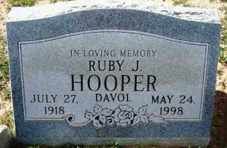 HOOPER, RUBY J. - Maricopa County, Arizona | RUBY J. HOOPER - Arizona Gravestone Photos