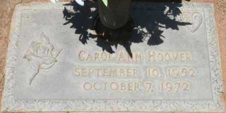 HOOVER, CAROL ANN - Maricopa County, Arizona | CAROL ANN HOOVER - Arizona Gravestone Photos