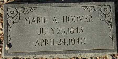 HOOVER, MARIE A. - Maricopa County, Arizona | MARIE A. HOOVER - Arizona Gravestone Photos
