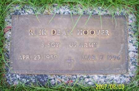 HOOVER, RICK DEAN - Maricopa County, Arizona   RICK DEAN HOOVER - Arizona Gravestone Photos