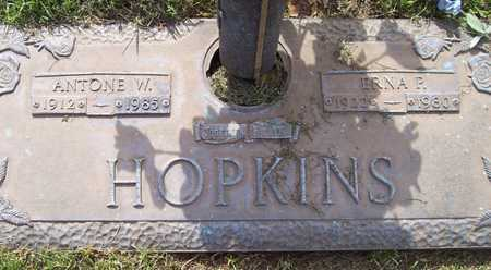 HOPKINS, ERNA P. - Maricopa County, Arizona | ERNA P. HOPKINS - Arizona Gravestone Photos