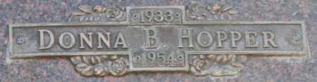 HOPPER, DONNA B - Maricopa County, Arizona | DONNA B HOPPER - Arizona Gravestone Photos