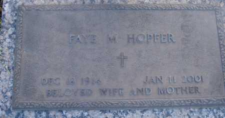 HOPFER, FAYE M. - Maricopa County, Arizona | FAYE M. HOPFER - Arizona Gravestone Photos