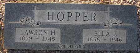 HOPPER, LAWSON H. - Maricopa County, Arizona | LAWSON H. HOPPER - Arizona Gravestone Photos