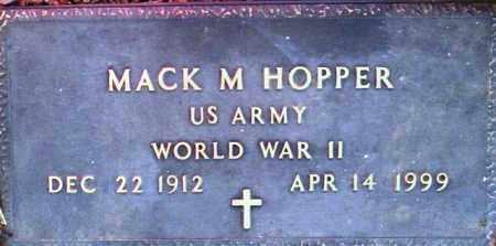 HOPPER, MACK M. - Maricopa County, Arizona | MACK M. HOPPER - Arizona Gravestone Photos