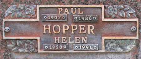 HOPPER, PAUL - Maricopa County, Arizona | PAUL HOPPER - Arizona Gravestone Photos