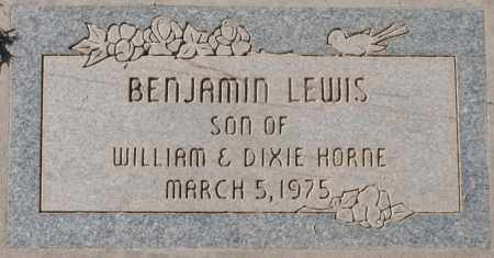 HORNE, BENJAMIN LEWIS - Maricopa County, Arizona   BENJAMIN LEWIS HORNE - Arizona Gravestone Photos