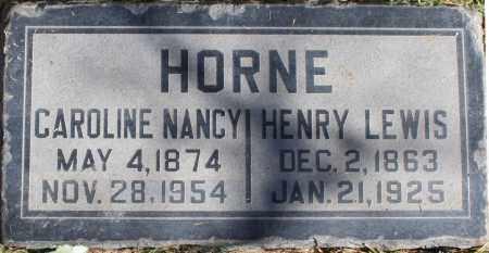 HORNE, CAROLINE NANCY - Maricopa County, Arizona   CAROLINE NANCY HORNE - Arizona Gravestone Photos