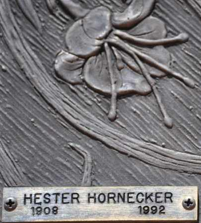 HORNECKER, HESTER - Maricopa County, Arizona | HESTER HORNECKER - Arizona Gravestone Photos
