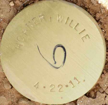 HORNER, WILLIE - Maricopa County, Arizona | WILLIE HORNER - Arizona Gravestone Photos
