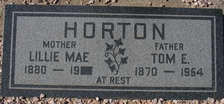 HORTON, TOM E. - Maricopa County, Arizona | TOM E. HORTON - Arizona Gravestone Photos