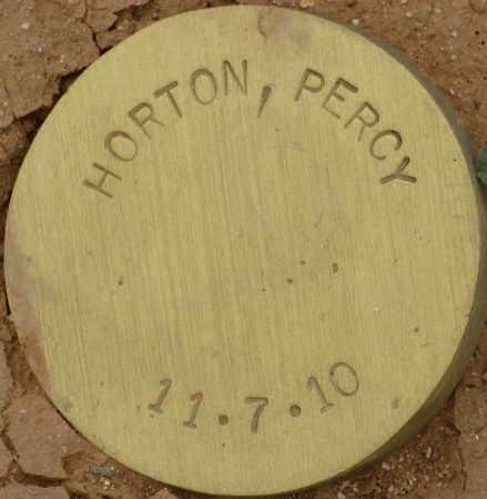 HORTON, PERCY - Maricopa County, Arizona | PERCY HORTON - Arizona Gravestone Photos