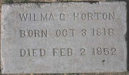 HORTON, WILMA C. - Maricopa County, Arizona | WILMA C. HORTON - Arizona Gravestone Photos