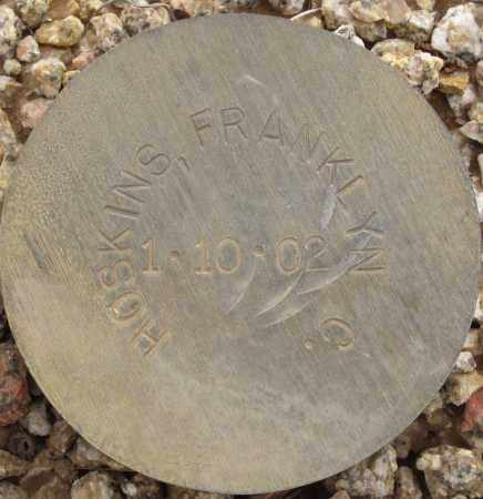 HOSKINS, FRANKLYN C. - Maricopa County, Arizona | FRANKLYN C. HOSKINS - Arizona Gravestone Photos