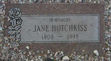 HOTCHKISS, JANE - Maricopa County, Arizona | JANE HOTCHKISS - Arizona Gravestone Photos