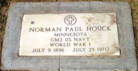 HOUCK, NORMAN PAUL - Maricopa County, Arizona | NORMAN PAUL HOUCK - Arizona Gravestone Photos