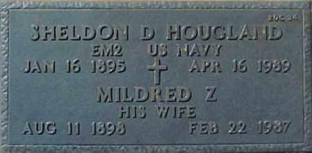 HOUGLAND, SHELDON D - Maricopa County, Arizona   SHELDON D HOUGLAND - Arizona Gravestone Photos
