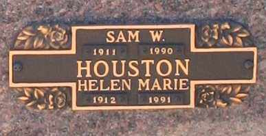 HOUSTON, SAM W - Maricopa County, Arizona | SAM W HOUSTON - Arizona Gravestone Photos