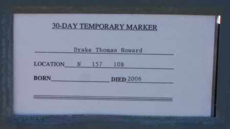 HOWARD, DRAKE THOMAS - Maricopa County, Arizona | DRAKE THOMAS HOWARD - Arizona Gravestone Photos