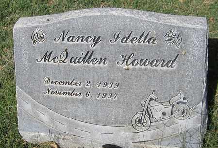 HOWARD, NANCY IDELLA - Maricopa County, Arizona | NANCY IDELLA HOWARD - Arizona Gravestone Photos