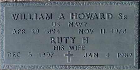 HOWARD, RUTY H. - Maricopa County, Arizona   RUTY H. HOWARD - Arizona Gravestone Photos