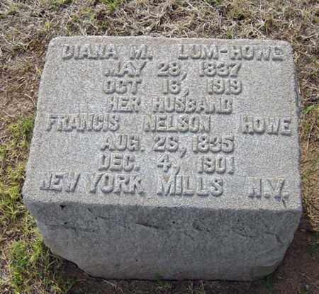 LUM HOWE, DIANA M. - Maricopa County, Arizona | DIANA M. LUM HOWE - Arizona Gravestone Photos