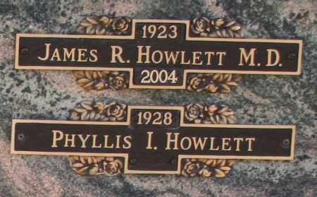 HOWLETT, PHYLLIS I - Maricopa County, Arizona | PHYLLIS I HOWLETT - Arizona Gravestone Photos