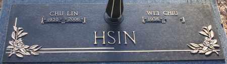 HSIN, WEI CHU - Maricopa County, Arizona | WEI CHU HSIN - Arizona Gravestone Photos