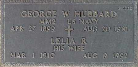 HUBBARD, LEILA R. - Maricopa County, Arizona | LEILA R. HUBBARD - Arizona Gravestone Photos