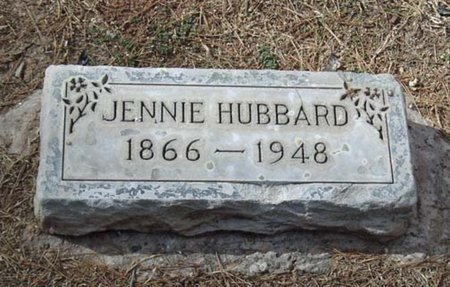 HUBBARD, JENNIE - Maricopa County, Arizona | JENNIE HUBBARD - Arizona Gravestone Photos