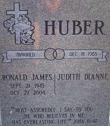 HUBER, RONALD JAMES - Maricopa County, Arizona | RONALD JAMES HUBER - Arizona Gravestone Photos