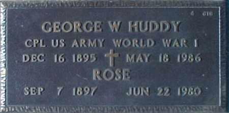 HUDDY, ROSE - Maricopa County, Arizona | ROSE HUDDY - Arizona Gravestone Photos