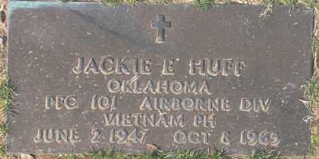 HUFF, JACKIE E. - Maricopa County, Arizona | JACKIE E. HUFF - Arizona Gravestone Photos